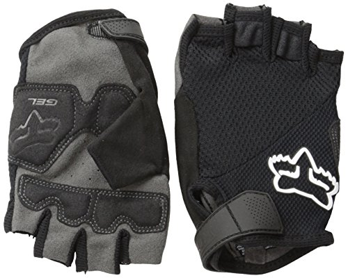 Fox Women's Reflex Shorts Gel Gloves, Black, Small