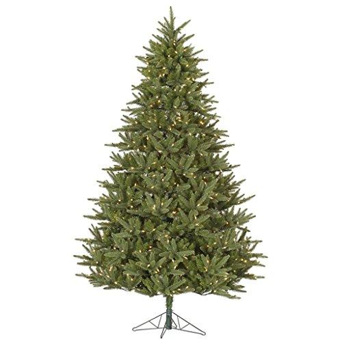Vickerman 32143 - 9' x 67 Berkshire Fir 1,150 Clear DuraLit Miniature Lights Christmas Tree (A140481)