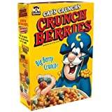 Cap'n Crunch Crunch Berries Cereal, 15oz Boxes (Pack of 4)