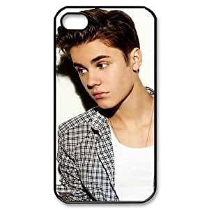 Justin Bieber Personalized Cover Case for Iphone 4,4S,customized phone case ygtg-700320