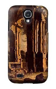 S1044 Leonardo A Capriccio Of Classical Ruins Case Cover For Samsung Galaxy S4 mini by lolosakes