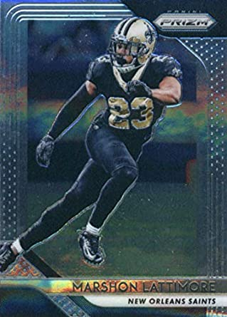 2018 Panini Prizm  68 Marshon Lattimore New Orleans Saints NFL Football  Trading Card 01810c5ce
