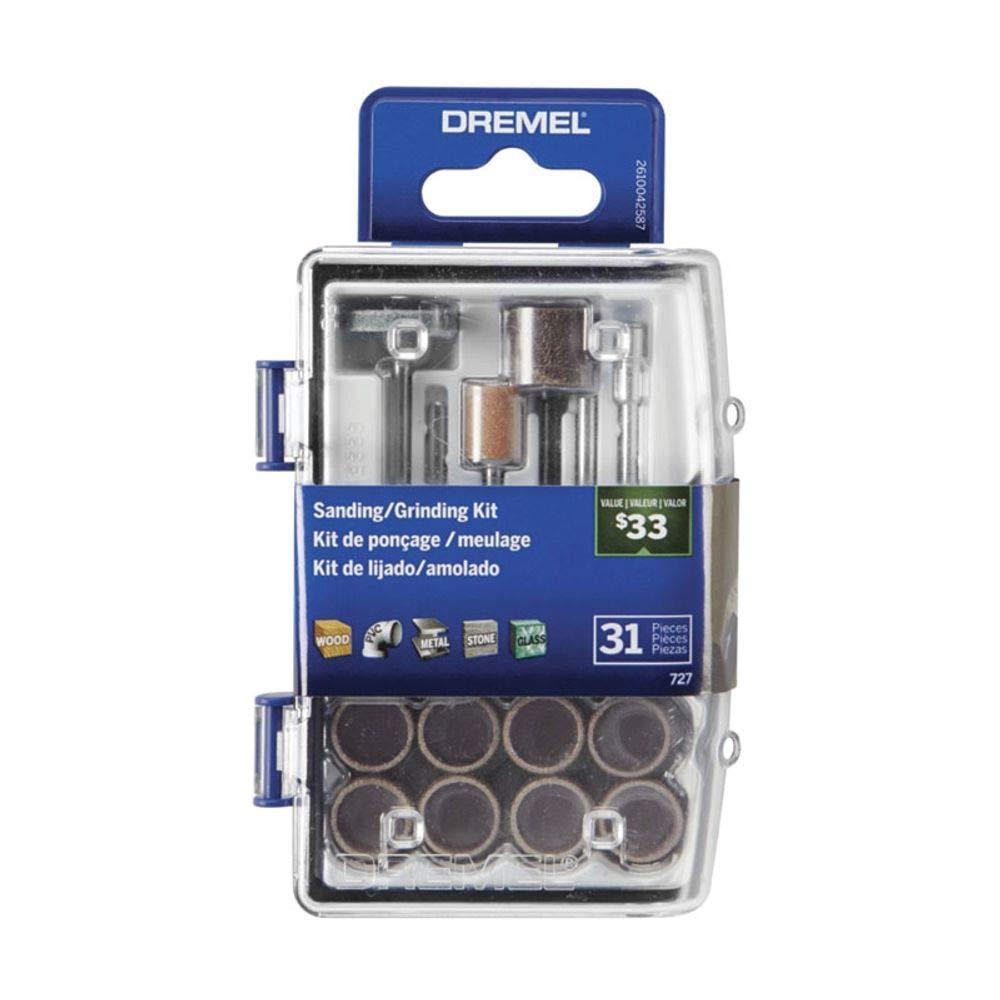 Dremel - Kit de accesorios rotativos para lijado/molienda