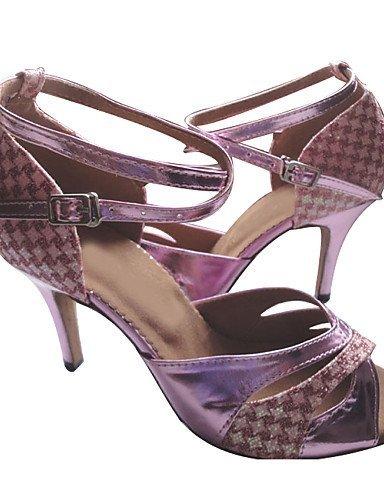 ShangYi Maßgefertigter Absatz - Lackleder/Glitter - Latin - Damen Purple