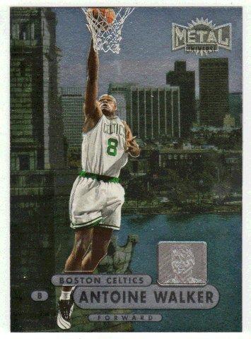 Antoine Walker (Basketball Card) 1997-98 Skybox Metal Universe Championship # 27