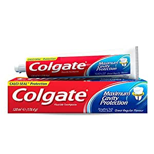 Colgate Maximum Cavity Protection Toothpaste, 120ml