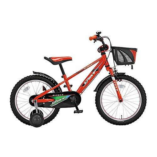 ミヤタ(MIYATA) 子供用 自転車 スパイキーキッズ SPIKY KIDS FCK167 (ORKN) レッドブラック B077NT2S8D