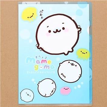 Carpeta plástico A4 kawaii foquitas bebé Mamegoma: Amazon.es: Juguetes y juegos