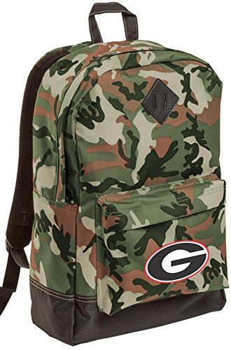 University of Georgia CAMO Backpack Medium Georgia Bulldogs Backpacks