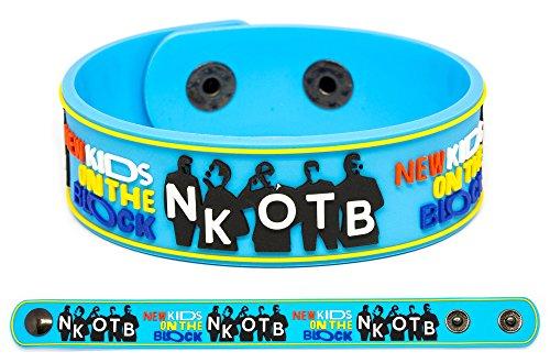NEW KIDS ON THE BLOCK Rubber Bracelet Wristband NKOTB