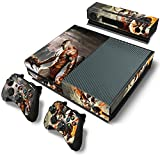 Mod Freakz Console and Controller Vinyl Skin Set - War God Battle Fight for Xbox One