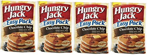 - Hungry Jack Easy Pack Chocolate Chip Pancake Mix 7 Oz Packet (Pack of 4)