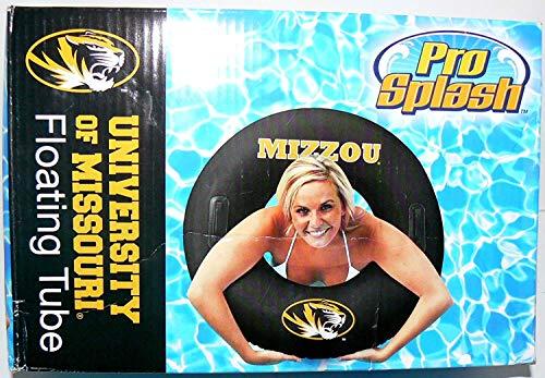 - NCAA Officially Licensed Mizzou Pro Splash Floating Tube