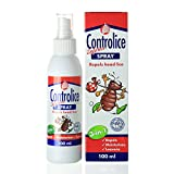 Controlice 3-In-1 Lice Defense Spray | Lice Elimination + Repellent Spray + Detangling Conditioner | Non-Toxic, Plant Oil Formula, Gentle & Easy To Use For The Whole Family |100ml