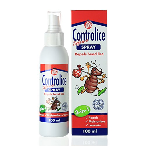 Controlice 3-In-1 Lice Defense Spray | Lice Elimination + Repellent Spray + Detangling Conditioner | Non-Toxic, Plant Oil Formula, Gentle & Easy To Use For The Whole Family |100ml by FIRST CLASS USA