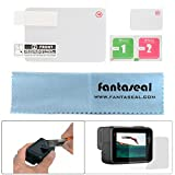 Fantaseal® Scratch-resistant Tempered High Light Transmittance Glass Screen Protector Lens Film Accessory Kit with Super Micro-Fiber Lens Cloth for Gopro 5 Black