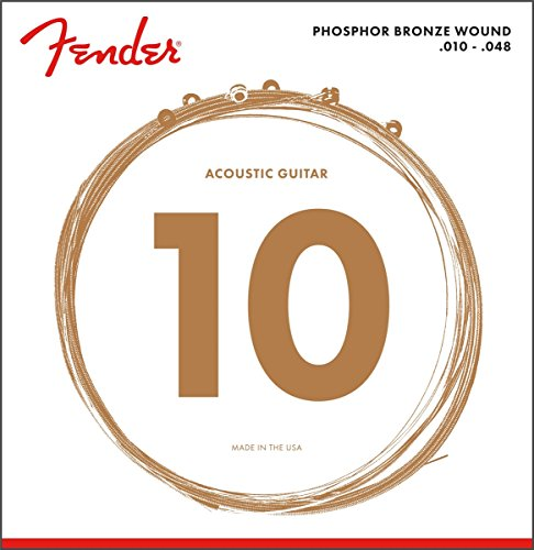 Fender 60XL 0730060402 Acoustic Guitar Phosphor Bronze Ball