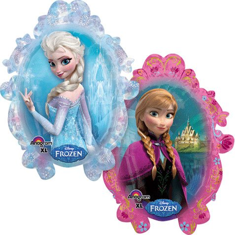 Anagram International 2816201 Disney Fr ozen Shape Balloon Pack, 31