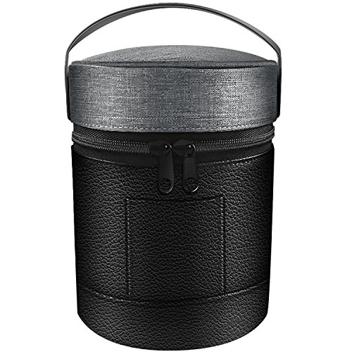 LTGEM Portable Travel Carrying Case For Apple HomePod Speaker With Holding Strap
