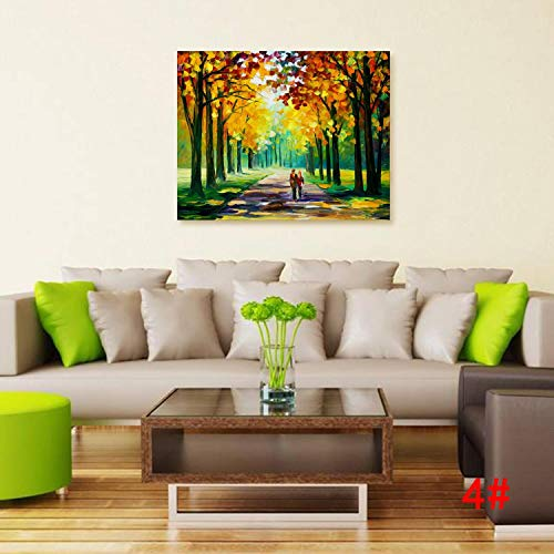 MinGe Paintworks Painted Oil Painting, Reproduction Modern Prints Artwork Abstract Landscape Pictures Printed on Canvas Wall Art Home Office Decorations
