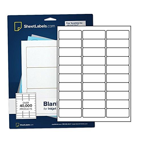 Waterproof Address Labels for Laser Printer, 1