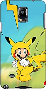 DailyObjects Pika Bros Case For Samsung Galaxy Note 4