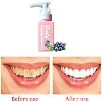 Meiyiu Blueberry Toothpaste Stain Removal Whitening Viaty Toothpaste Fight Bleeding Gums Bottled Toothpaste