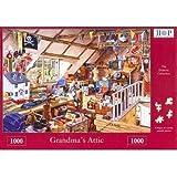 Grandma's Attic 1000 Piece Jigsaw Puzzle