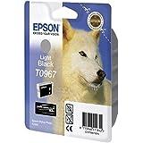 Epson C13T09674010 - Cartucho de tinta, gris
