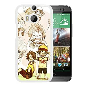 Fashion Designed One Piece 4 White HTC ONE M8 Phone Case