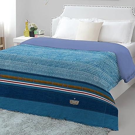 Spaces Youthopia Denim Double Duvet Cover King Size Blue
