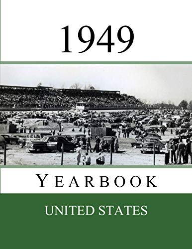 1949 US Yearbook: Original book full of facts and figures from 1949 - Unique birthday gift / present idea. (US Yearbooks)]()