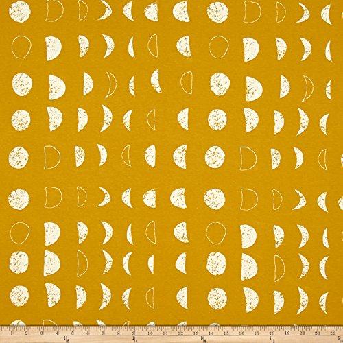 Art Gallery Nightfall Jersey Knit Lunation Bright Fabric By The (Art Knit)