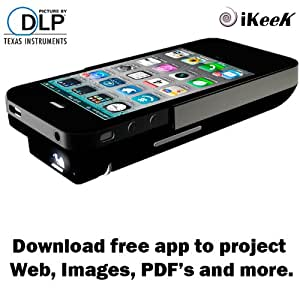 Apple iphone4 4s dlp pocket projector 2100mah for Apple projector price