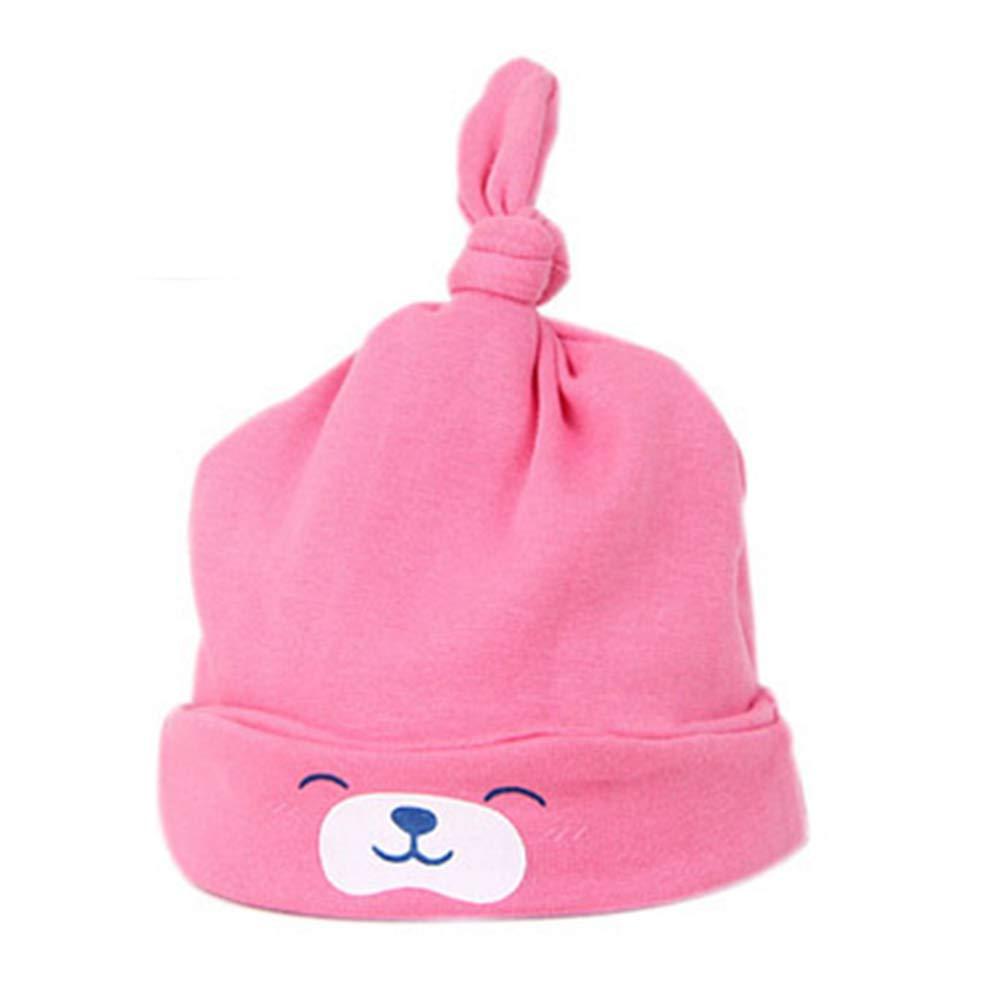 1PC super morbido cotone cappelli neonato bambino neonato Annodato tappi cappello accessori di abbigliamento giallo Yellow 40-50CM WEIHUIMEI