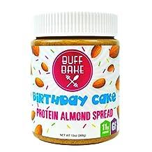 Buff Bake - Protein Almond Butter - Birthday Cake - 368G