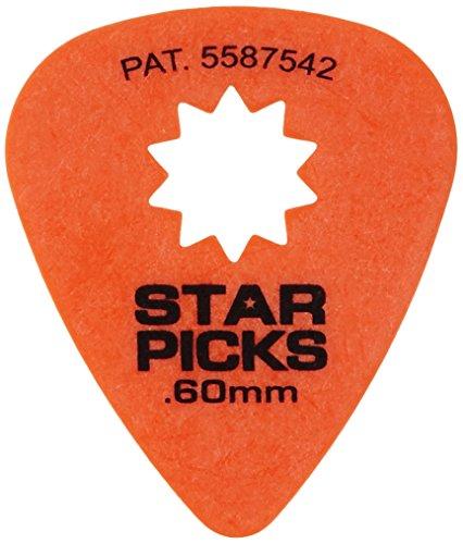 Everly 30022 Star Pik 12-pack .60mm Orange -