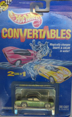 Hot Wheels 1990 CONVERTABLES WRECKERS FAB CAB 1:64 scale die-cast collectible car ()