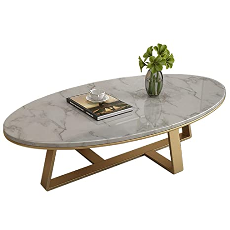 Living Room Table Furniture Simplistic Oval Coffee Table