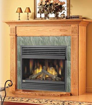 Napoleon GVF42 30,000 BTU Vent Free Zero Clearance Gas Fireplace, Propane