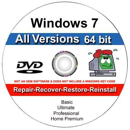 how to install windows 7 professional 64 bit without cd