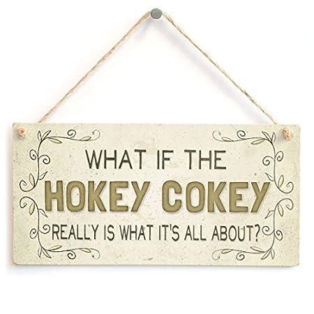 Funny placa regalo lo que si el HOKEY COKEY realmente es lo ...