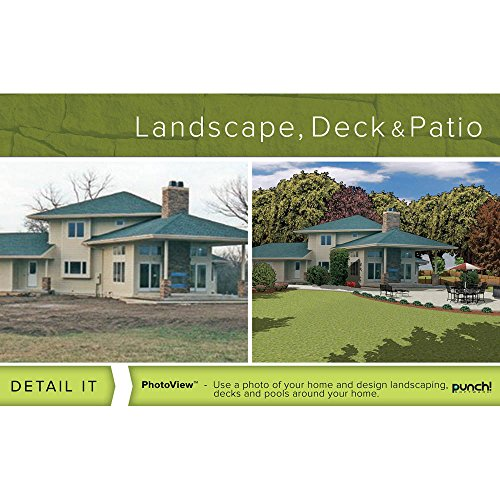 Punch Home And Landscape Design Software Review Punch Software 8132629 Punch  Landscape Deck And Patio