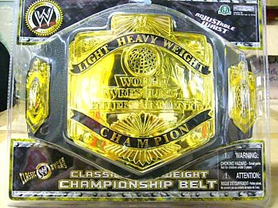 WWE Championship Spinning Belt