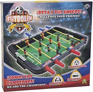 XTURNOS Futbolin Infantil sobremesa 43x42x6 cm.: Amazon.es ...