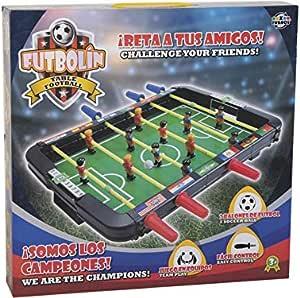XTURNOS Futbolin Infantil sobremesa 43x42x6 cm.: Amazon.es: Juguetes y juegos
