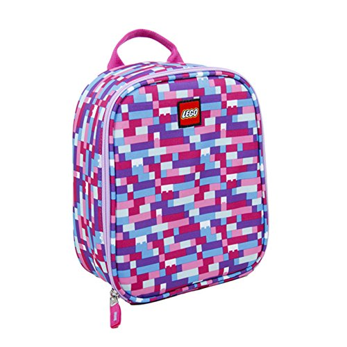 LEGO Brick Pink/Purple Vertical Lunch, Multi, One Size