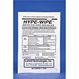 Current Technologies 9803 Mini Hype-Wipe Bleach Towelette, 3'' L x 3'' W (Pack of 100)