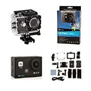 Bitmore 4K Ultra HD Action Camera with Accessory Set