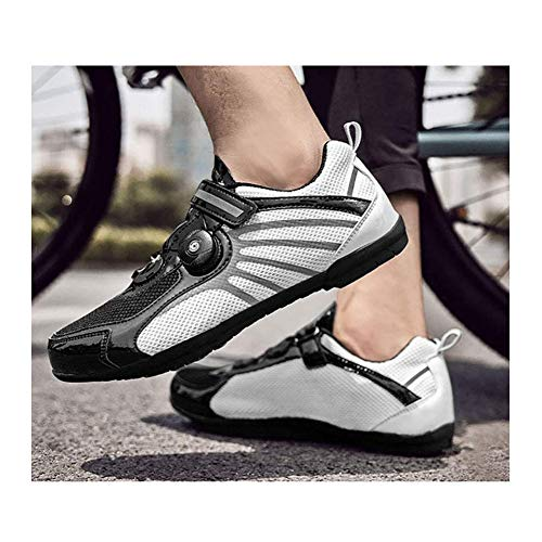 FACAI Cycling Shoes,Professional Lightweight Road Bicycle Shoes With Reflective Stripes,Non-Slip Breathable Adults…